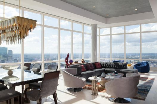 Millennium Tower #PH4A Midtown Boston, $15,950,000